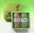 【法事・香典返し】玉露・川根特上煎茶200g缶入詰合せ