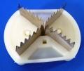 マルチやトンネルの穴あけに ぽんぽんカッターの替刃クロスカット