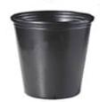 大型黒ポリ鉢21cm