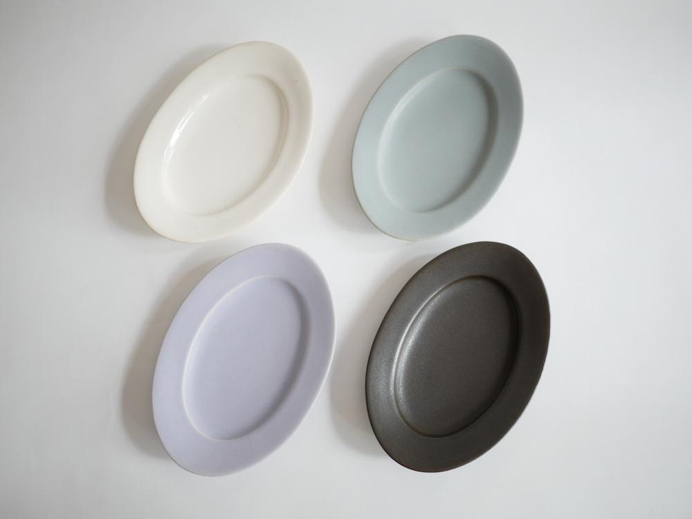 Awabi ware オーバル皿S