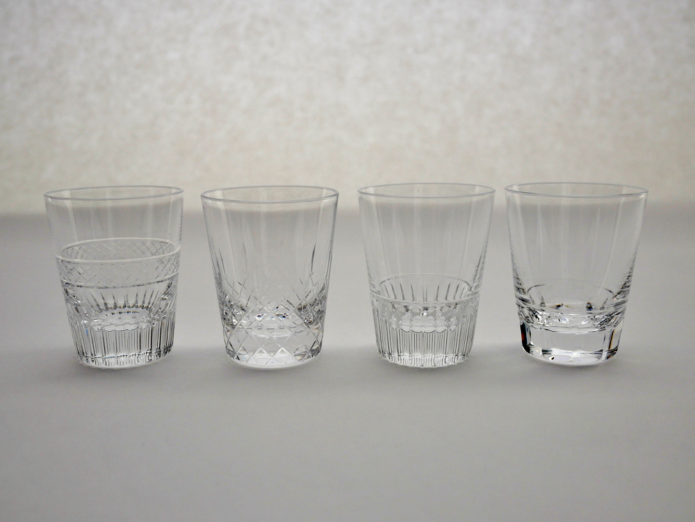 h collection 廣島晴弥 クリスタルショットグラス