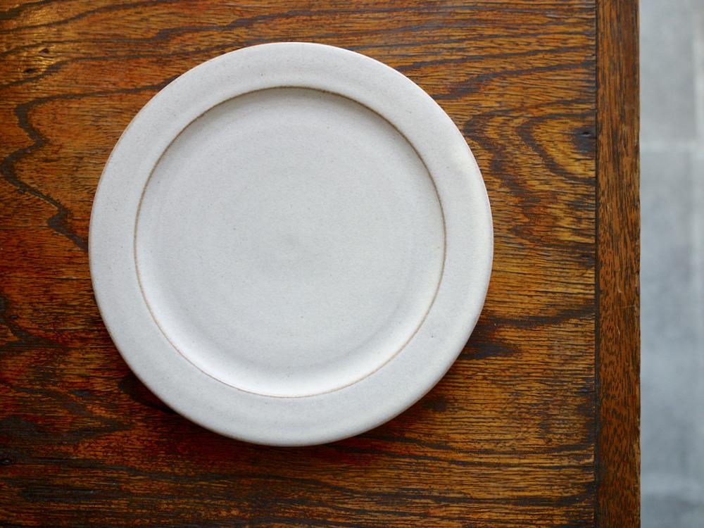 北岡幸士 リム皿ホワイト