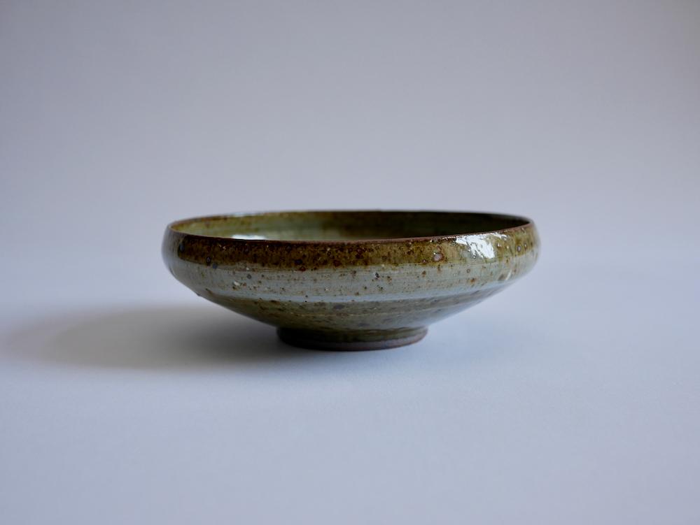 北岡幸士 桜灰釉平鉢5寸