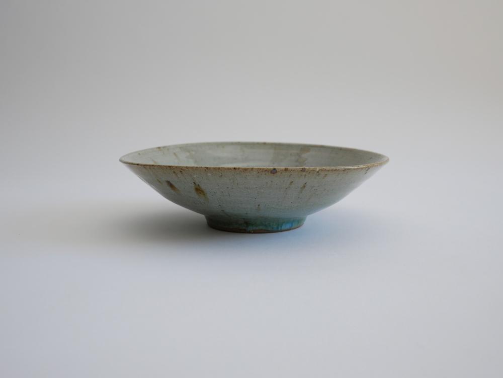 北岡幸士 灰釉6.5寸鉢