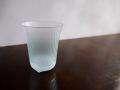 ILE8ガラス しまの器 ビアグラス