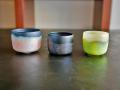 石田彩 glass cup