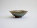 北岡幸士 灰鉄釉5.5寸鉢