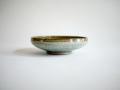 北岡幸士 平鉢5寸 灰緑釉