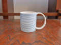 照井壮 青線刻マグカップ