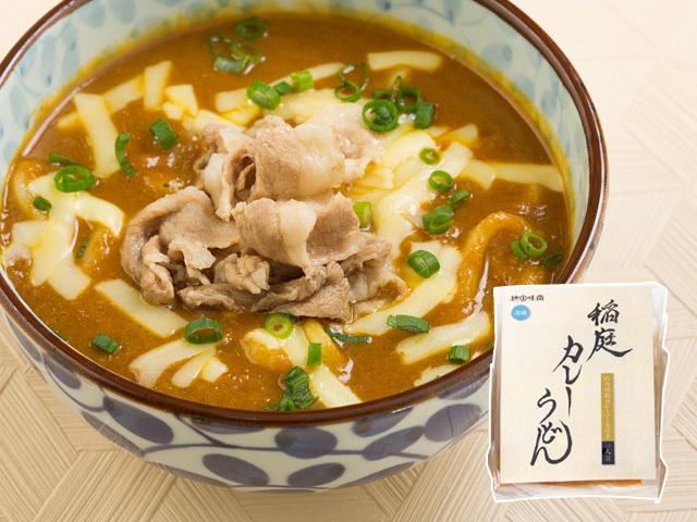 【冷凍稲庭うどん】稲庭カレー肉うどんセット