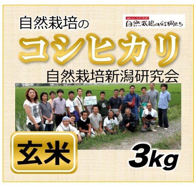 新潟コシヒカリ玄米3kg