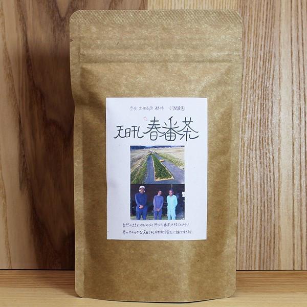 天日干し春番茶40g 自然栽培のお茶 静岡県 無農薬茶の杉本園 1000円以下