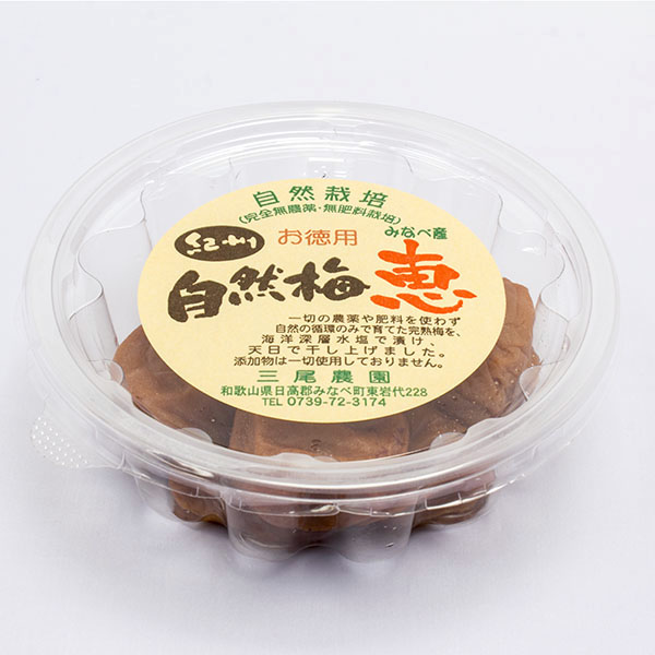 お得用 自然梅 恵 和歌山県 三尾農園 自然栽培梅使用 1000円以下
