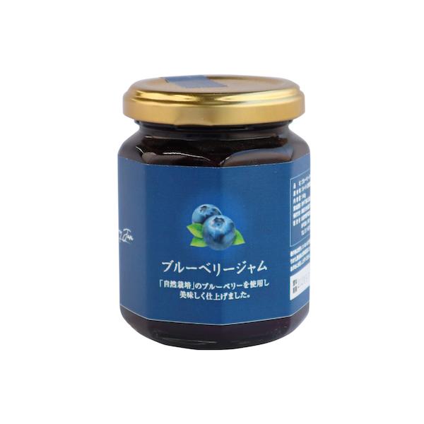 ブルーベリージャム〔自然栽培のきび砂糖使用〕140g
