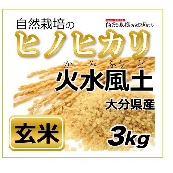 ヒノヒカリ 玄米3kg