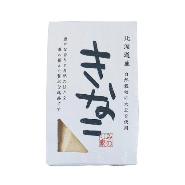 きな粉 〔自然栽培大豆使用〕 50g みのり彩園 北海道