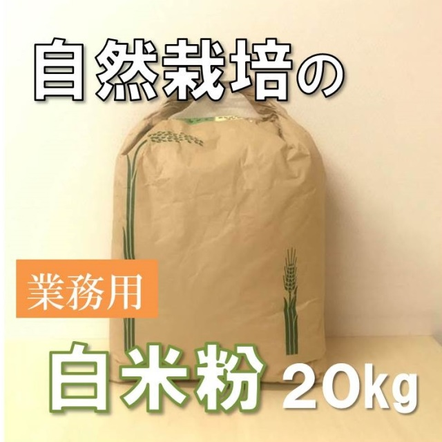業務用白米粉20kg