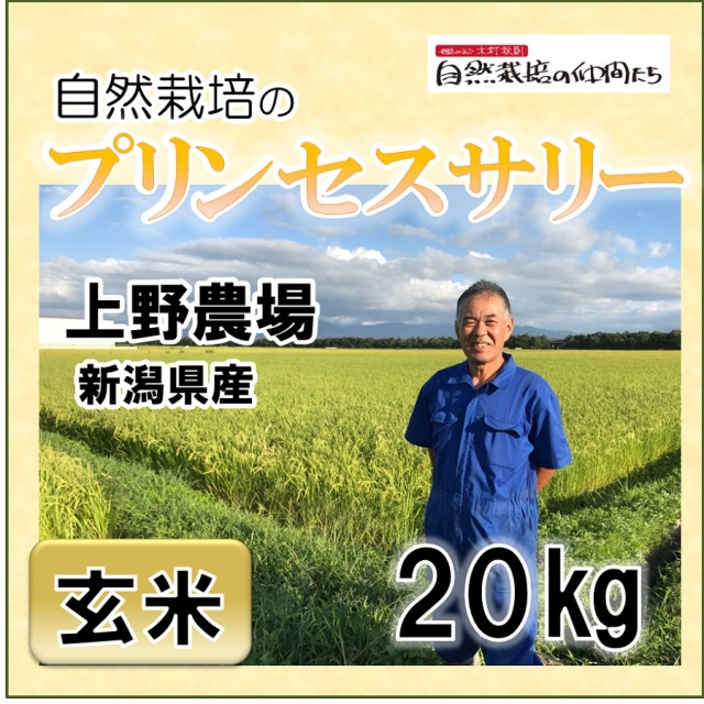 プリンセスサリー玄米20kg