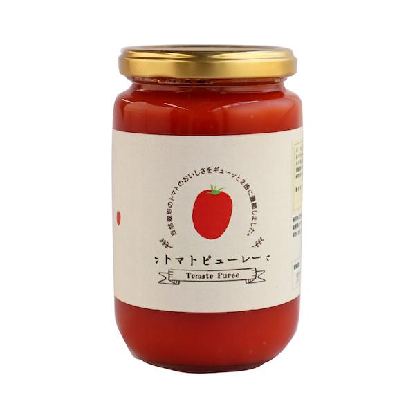 トマトピューレ 330g みのり彩園 北海道産自然栽培トマト使用