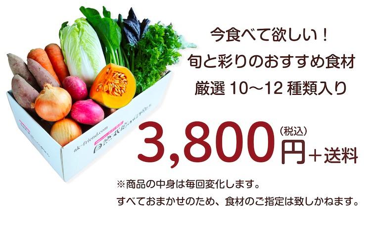 ごちそう野菜セット紹介