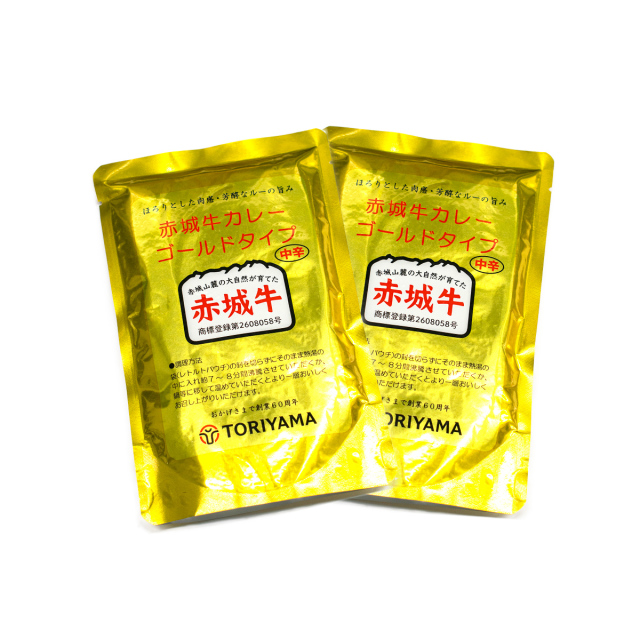 赤城牛カレーゴールドタイプ(中辛)