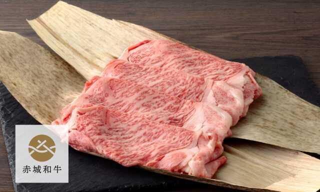 赤城和牛リブロースすき焼き