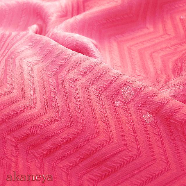 帯揚げ パステル ピンクと赤