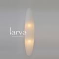【日本製和紙照明】大型和風照明 吹き抜け用ペンダントライト SDPN-208 larva 揉み紙N