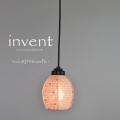 【日本製和紙照明】交換用和紙シェード SLDP-244D invent 灯花ピンク×小梅ピンク