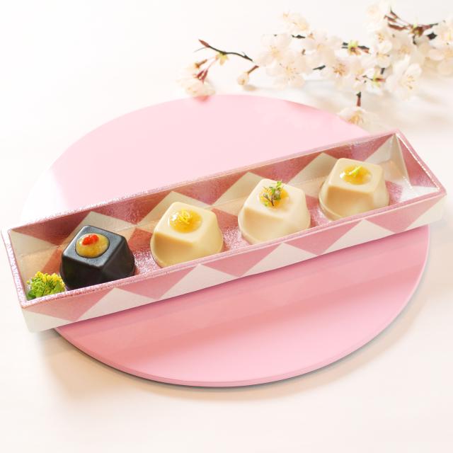 春の胡麻豆腐