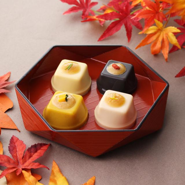 秋のひとくち胡麻豆腐