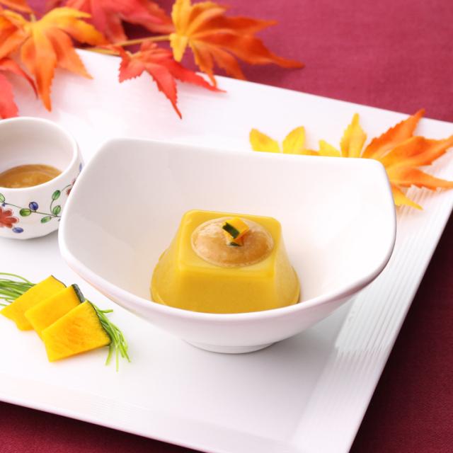 かぼちゃ胡麻豆腐