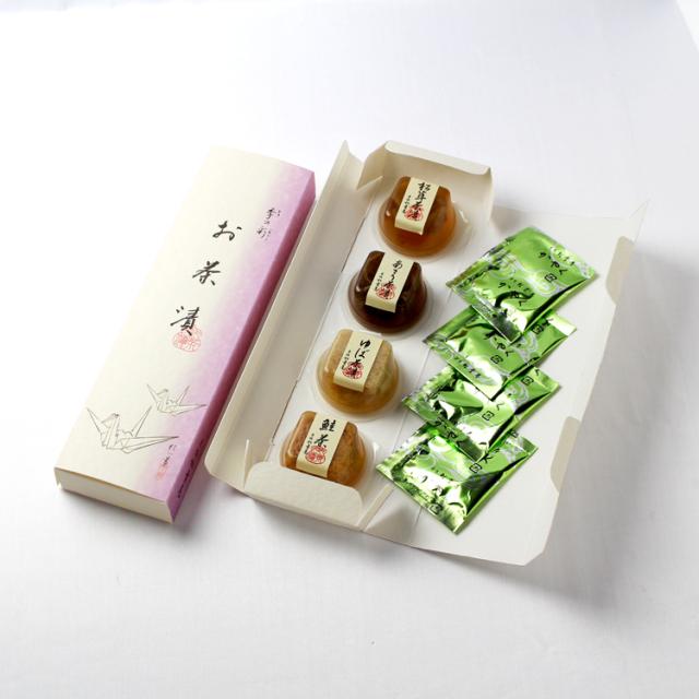 お茶漬4種