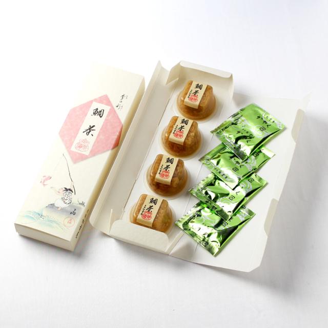 鯛茶パッケージ
