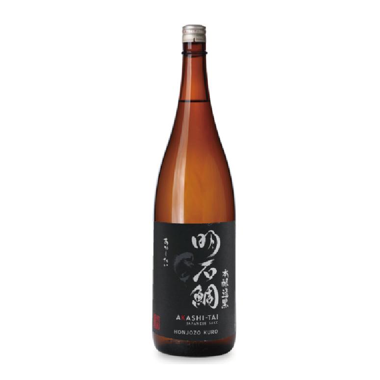 本醸造黒ラベル「明石鯛」