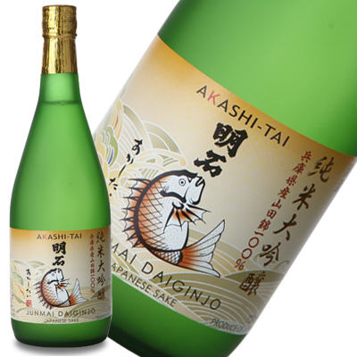 純米大吟醸「明石鯛」720ml
