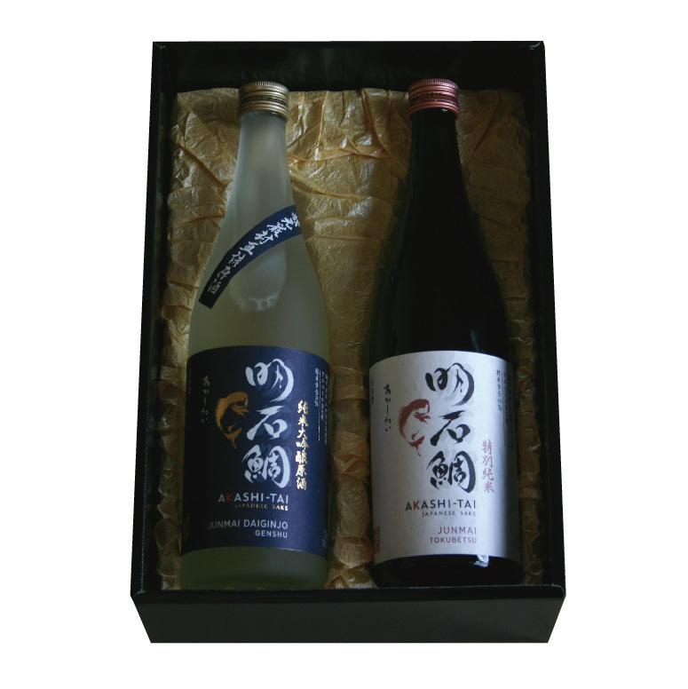 純米大吟醸原酒&特別純米「明石鯛」
