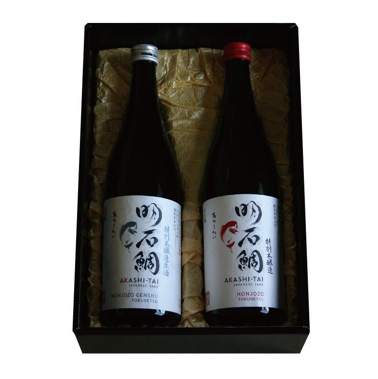 特別本醸造原酒&特別本醸造「明石鯛」