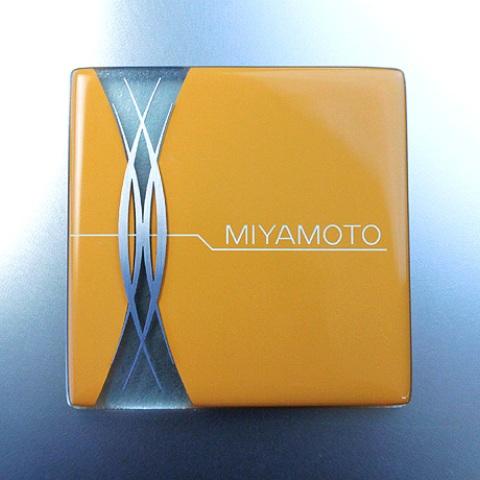 ステンレス表札 こだわりから生まれた新テイスト INOX couleurカラーキルンステンレス表札【HIC-M04】