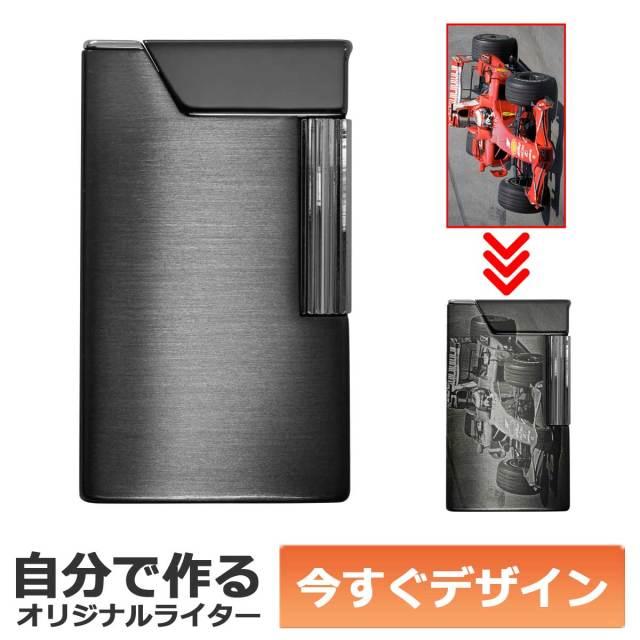 カスタムオーダー ロンソン ワーク26 ガンメタル オリジナルライター 適合リフィル(ガス or オイル)1本無料進呈