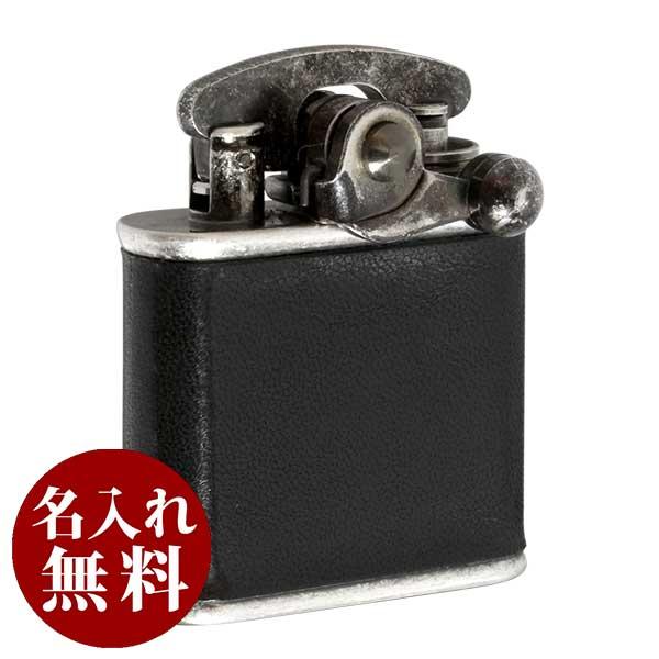 Colibri(コリブリ)ライター ニッケルバレル革巻き黒 308-0032