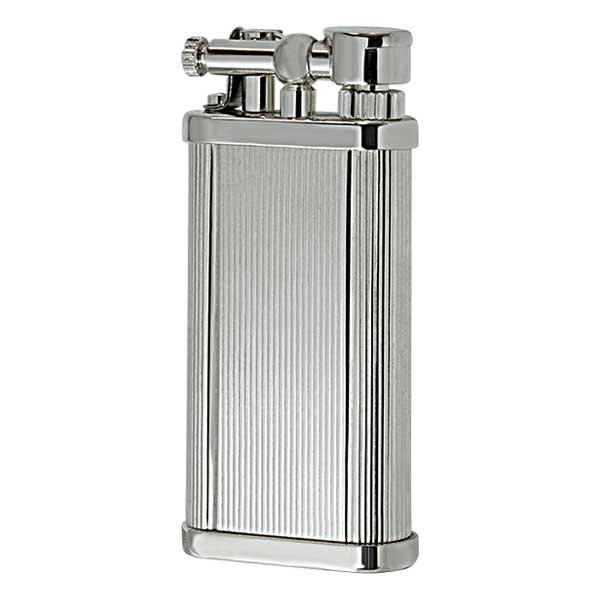 DUNHILL ダンヒル UNIQUE POCKET ユニークポケット シガー用 Silver Plate Lines UL1302 適合リフィル(ガス or オイル)1本無料進呈