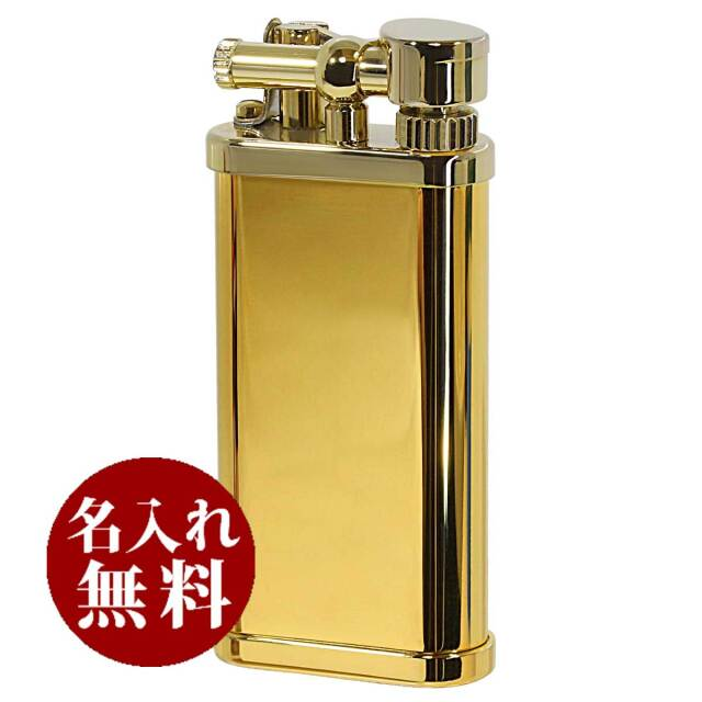 DUNHILL ダンヒル UNIQUE POCKET ユニークポケット シガレット用 Gold ULY1473 適合リフィル(ガス or オイル)1本無料進呈