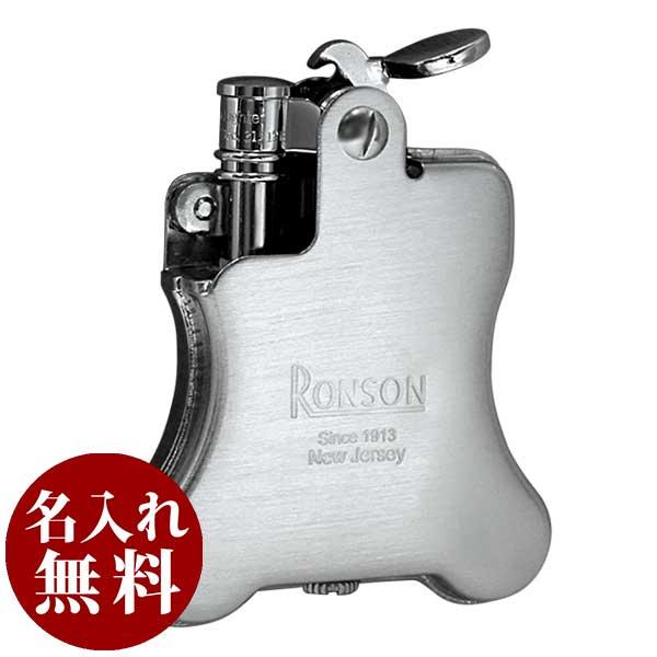 RONSON ロンソン Banjo バンジョー クロームサテン R01-1025 適合リフィル(ガス or オイル)1本無料進呈