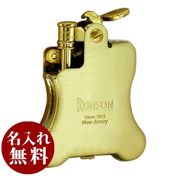 RONSON ロンソン Banjo バンジョー ブラスサテン R01-1026 適合リフィル(ガス or オイル)1本無料進呈