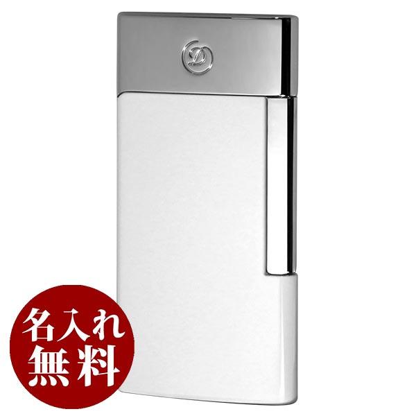 S.T.Dupont デュポン E-SLIM USB充電式・バッテリーライター ホワイト クローム 27003E