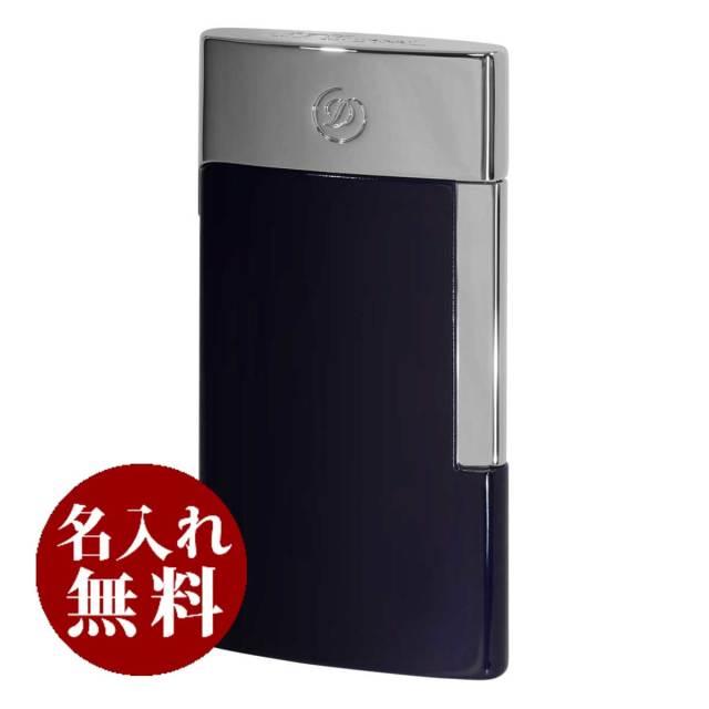S.T.Dupont デュポン E-SLIM USB充電式・バッテリーライター ブルー&クローム 27008E