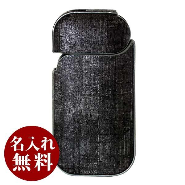 Taiko IQOS アイコス ケースセレクション for IQOS ウッドレザー柄 ブラック 144 メール便可