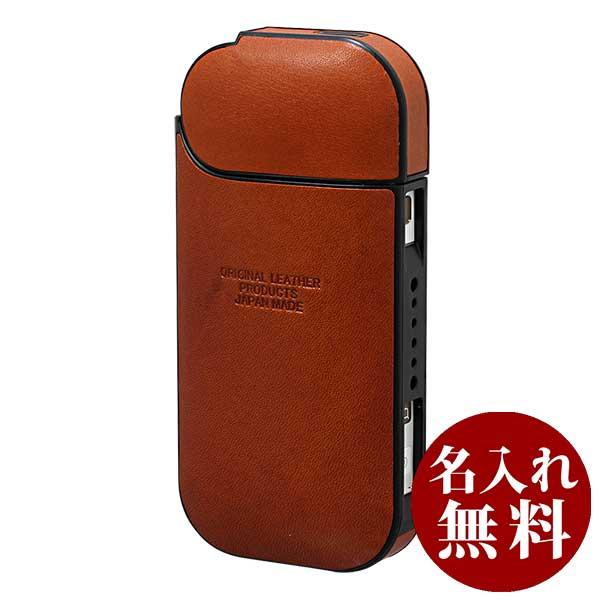 栃木レザー IQOS アイコスケース フルカバーシリーズ ジーンズ L-20468 RE BR