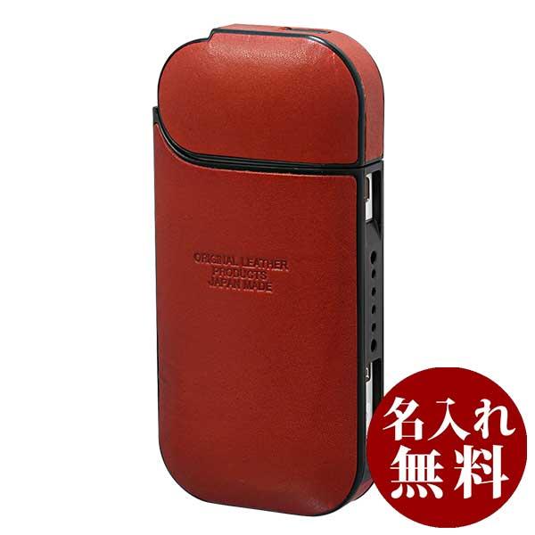 栃木レザー IQOS アイコスケース フルカバーシリーズ ジーンズ L-20468 RD